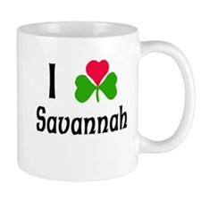 I Love Savannah Mug