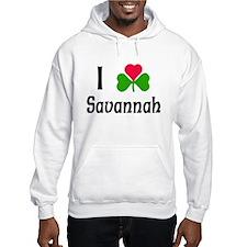I Love Savannah Hoodie