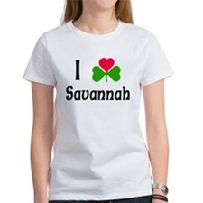 I Love Savannah Tee