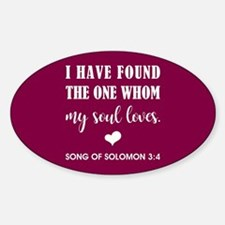 SONG OF SOLOMON Decal