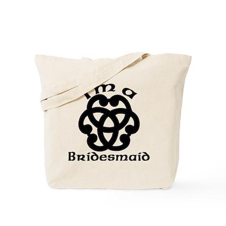 Celtic Knot Bridesmaid Tote Bag