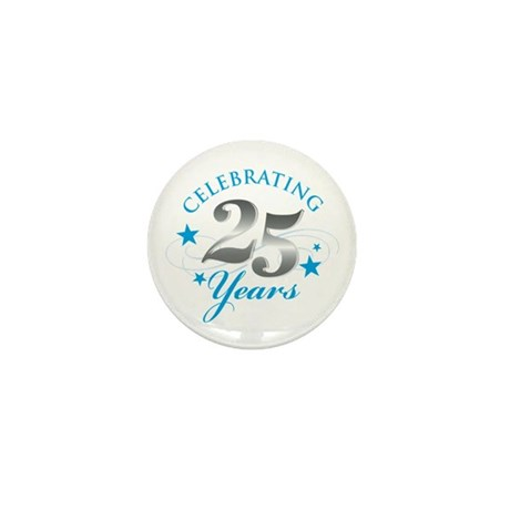 Celebrating 25 years Mini Button (10 pack)