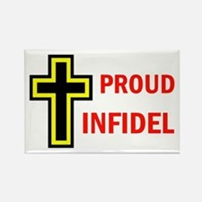 PROUD INFIDEL Rectangle Magnet