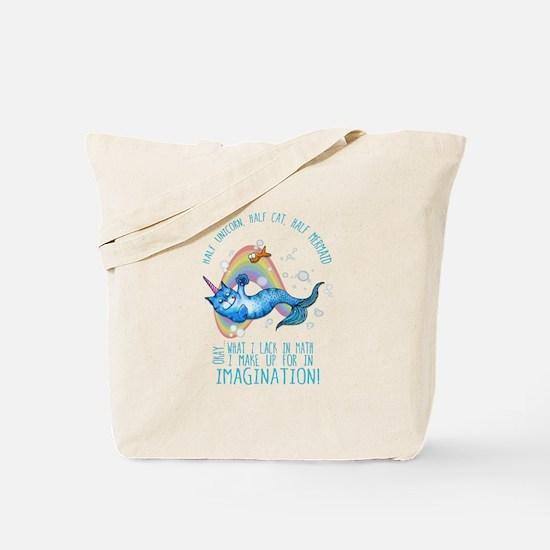 Unicatmaid unicorn cat mermaid Tote Bag