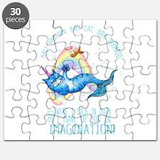 Unicatmaid unicorn cat mermaid Puzzle