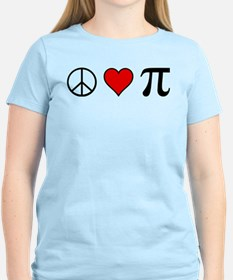 Peace, Love, and Pi T-Shirt