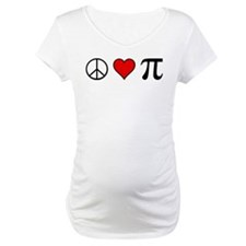 Peace, Love, and Pi Shirt