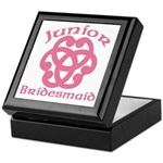 Celtic Knot Junior Bridesmaid Keepsake Box