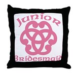 Celtic Knot Junior Bridesmaid Throw Pillow