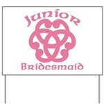 Celtic Knot Junior Bridesmaid Yard Sign