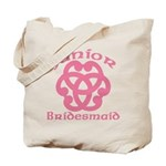 Celtic Knot Junior Bridesmaid Tote Bag
