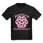 Celtic Knot Junior Bridesmaid Kids Dark T-Shirt