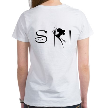 SKI DOWNHILL Women's T-Shirt