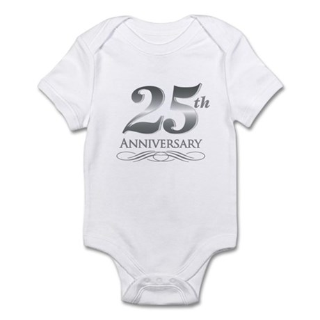 25 Year Anniversary Infant Bodysuit