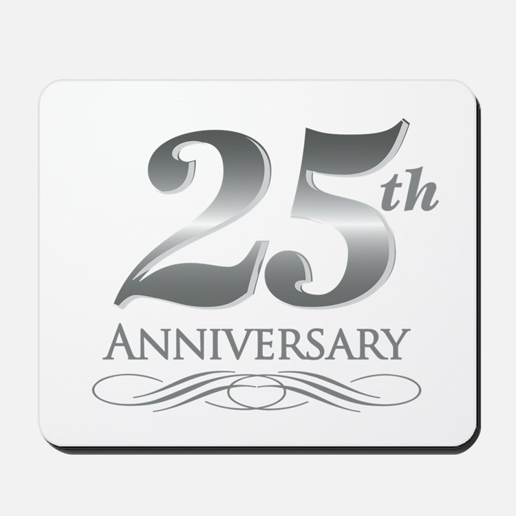 25 Year Anniversary Mousepad