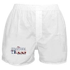 My Grandma in TX Boxer Shorts
