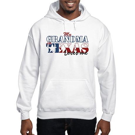 My Grandma in TX Hooded Sweatshirt
