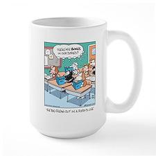 Dogs in Biology Class Mug