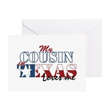 My Cousin in TX Greeting Card