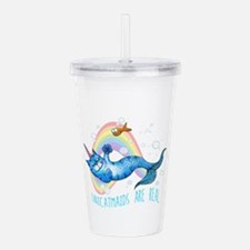 Unicatmaids are real Acrylic Double-wall Tumbler