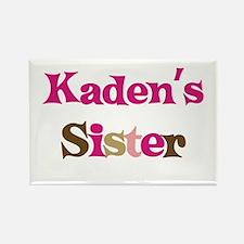 Kaden's Sister Rectangle Magnet