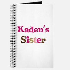 Kaden's Sister Journal