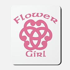 Celtic Knot Flower Girl Mousepad