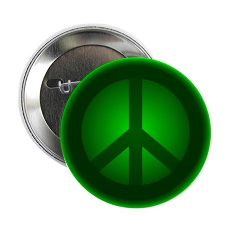 Green Peace Button