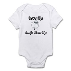 Don't Wear Me Sheep (PETA) Infant Bodysuit