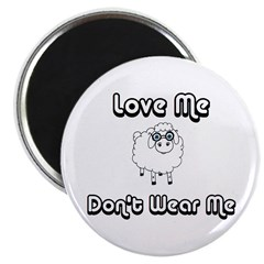 Don't Wear Me Sheep (PETA) Magnet