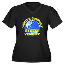 World's Greatest Stree.. (D) Women's Plus Size V-N