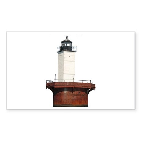 Chesapeake Bay Lighthouse Rectangle Sticker