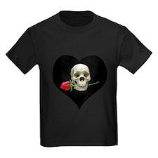 Blackheart SkullRose T