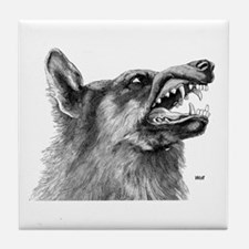 Wolf / Wolves Tile Coaster
