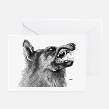 Wolf / Wolves Greeting Cards (Pk of 10)