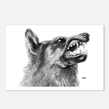 Wolf / Wolves Postcards (Package of 8)