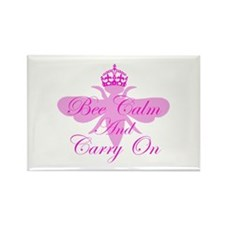 Be Calm Rectangle Magnet