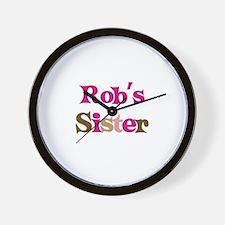 Rob's Sister  Wall Clock