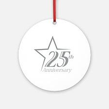 25 year anniversary Ornament (Round)