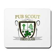 Irish Pub Scout Mousepad