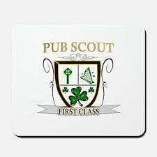 Irish Pub Scout Mousepad