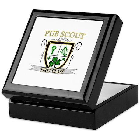 Irish Pub Scout Keepsake Box