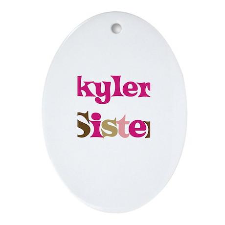Skyler's Sister Oval Ornament
