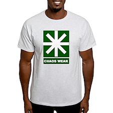 Chaos Wear (g/w) Ash Grey T-Shirt