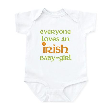 irish baby girl Infant Bodysuit