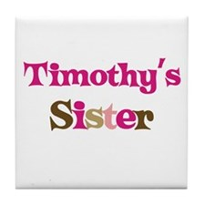Timothy's Sister  Tile Coaster