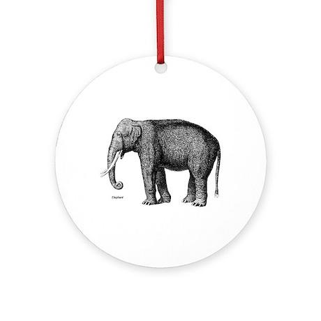 Elephant / Elephants Keepsake (Round)