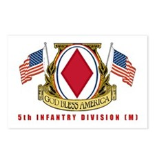 5th INFANTRY DIVISION Postcards (Package of 8)
