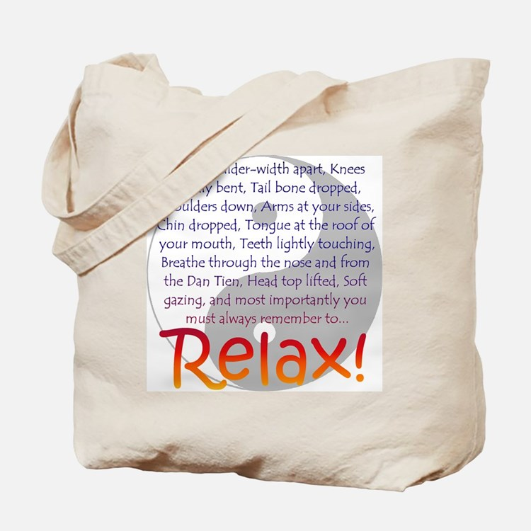 Relax! Tote Bag