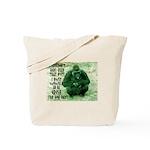 GREEN IRISH GORILLA Tote Bag